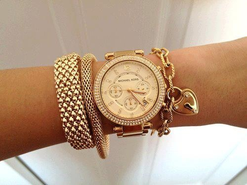 Women Wearing Michael Kors Watches